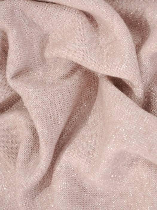 Dres sweterkowy damski zdobiony połyskującą nitką 29626