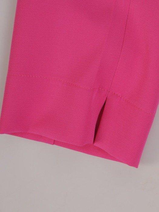 Amarantowe spodnie cygaretki 25758