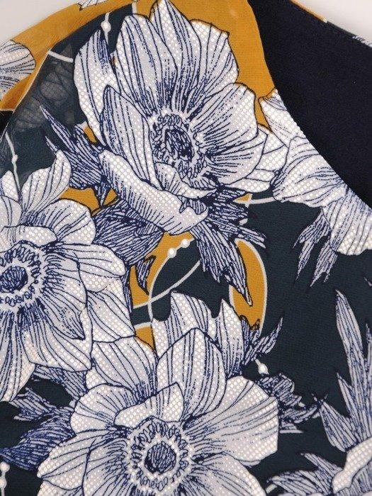 Asymetryczna bluzka z szyfonu 26695