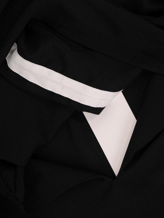 Asymetryczna tunika z modnymi rękawami 19797
