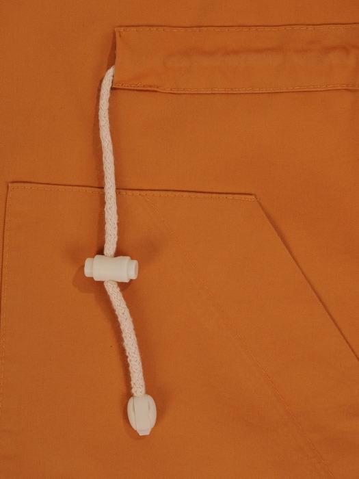 Bawełniana kurtka oversize z dużymi kieszeniami 22012