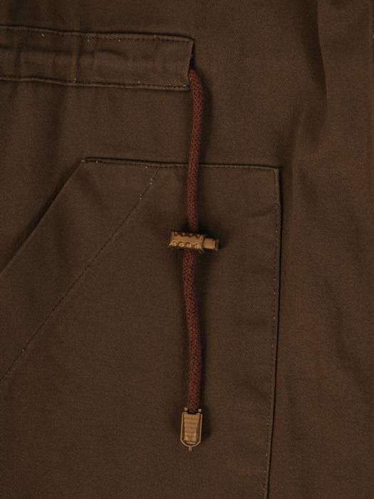 Bawełniana kurtka oversize z dużymi kieszeniami 22014
