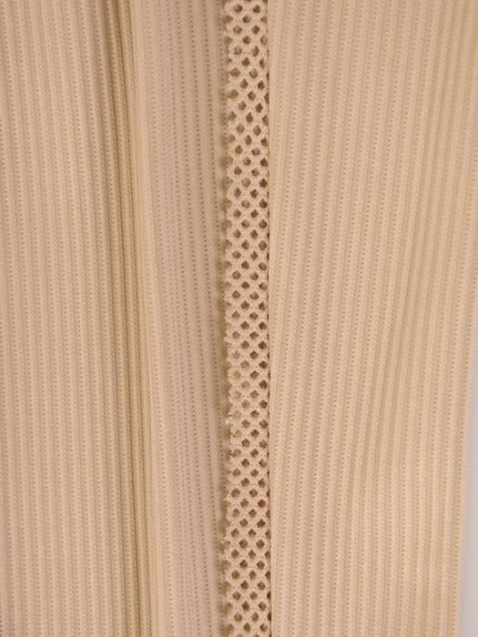 Beżowy dres damski z ozdobnymi dżetami 28570