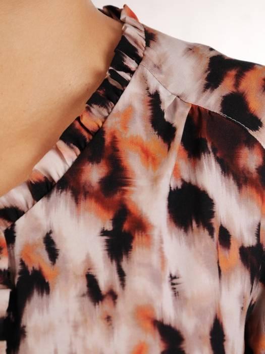 Bluzka damska w oryginalnym wzorze 27618
