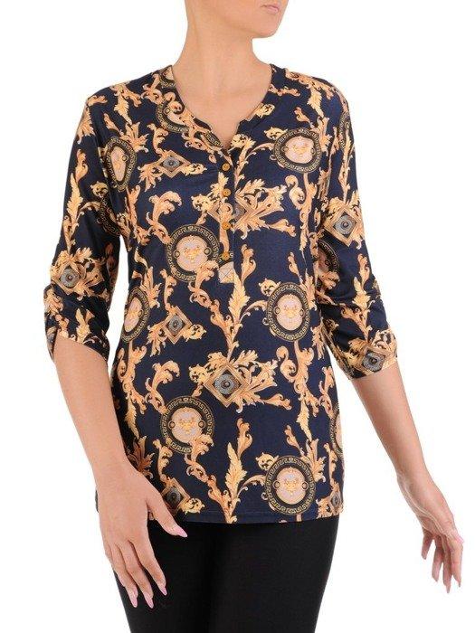 Bluzka damska z guzikami 26583