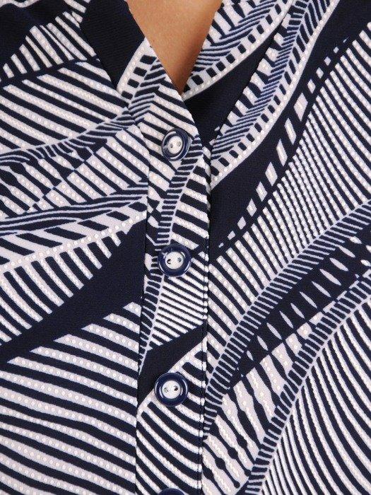 Bluzka damska z marszczonymi rękawami 26577