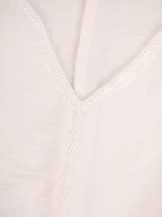 Bluzka damska z marszczonymi rękawami 27119