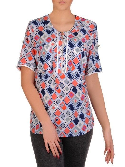 Bluzka w modnym wzorze Palmira I.