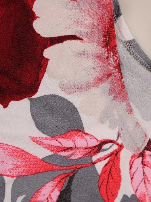 Bluzka z kwiatowym nadrukiem Szarlin VIII.
