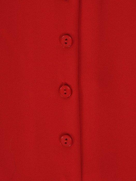 Bluzka z modnymi, bufiastymi rękawami 19133
