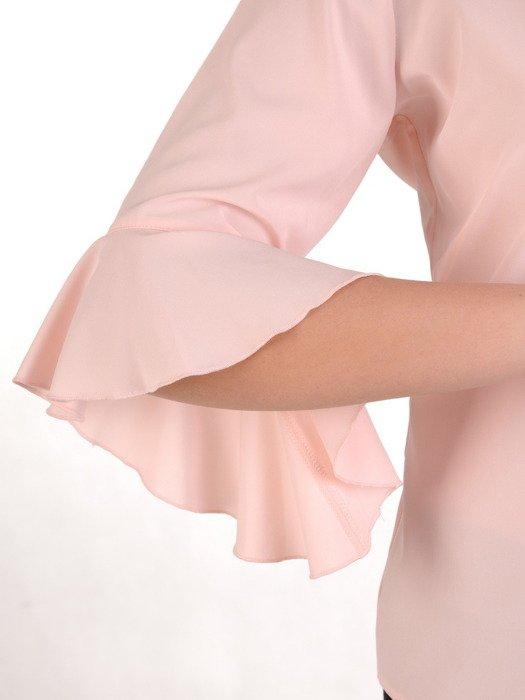 Bluzka z modnymi rękawami 15419.