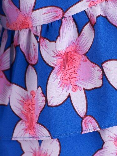 Bluzka z modnymi rękawami Delfina III.