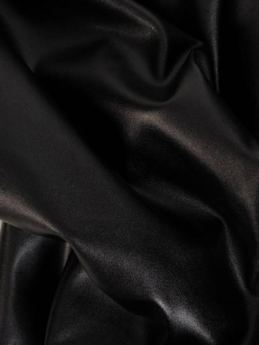 Czarne spodnie z ekologicznej skóry 27821