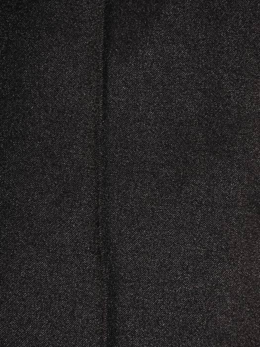 Czarny, delikatnie połyskujący komplet damski z dzianiny 28040