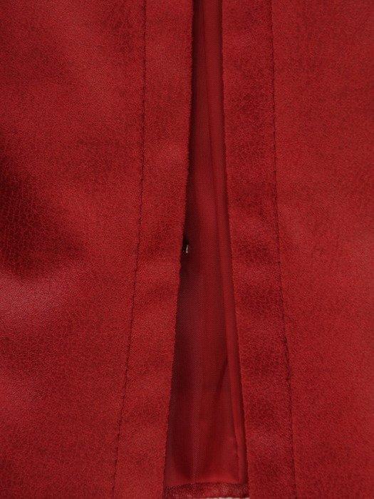 Czerwona kurtka z ekoskóry 19177