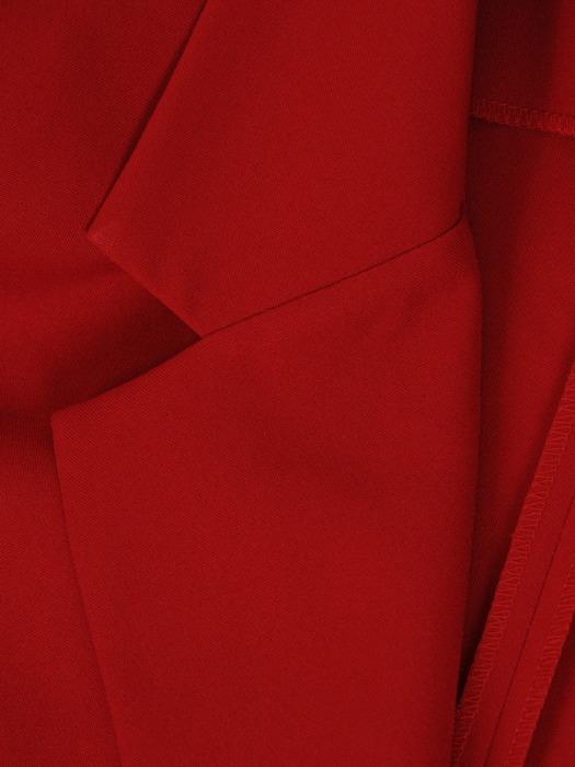 Czerwony żakiet zapinany na guzik 21198