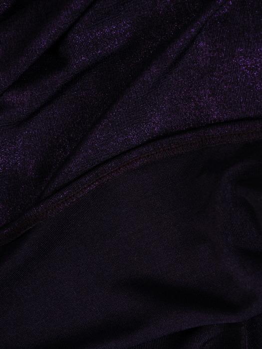 Długa suknia z modnym dekoltem, kreacja odkrywająca ramiona 21100