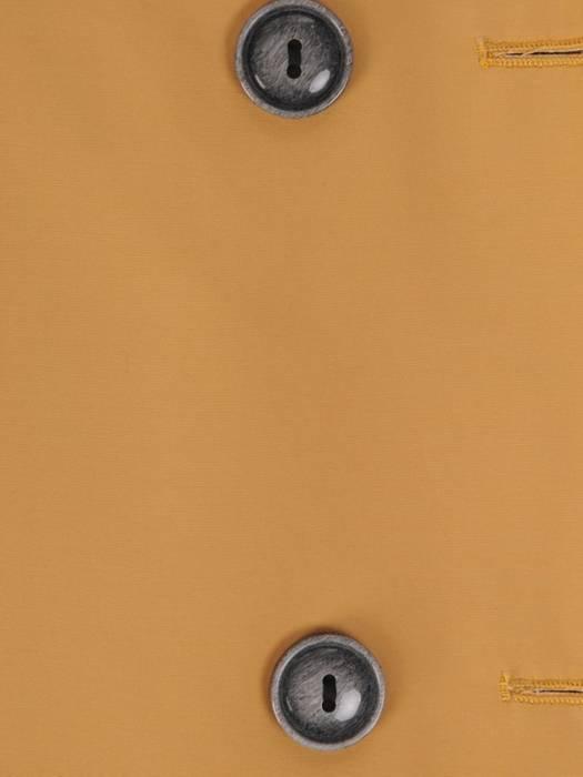 Dwurzędowy płaszcz damski z paskiem 28531
