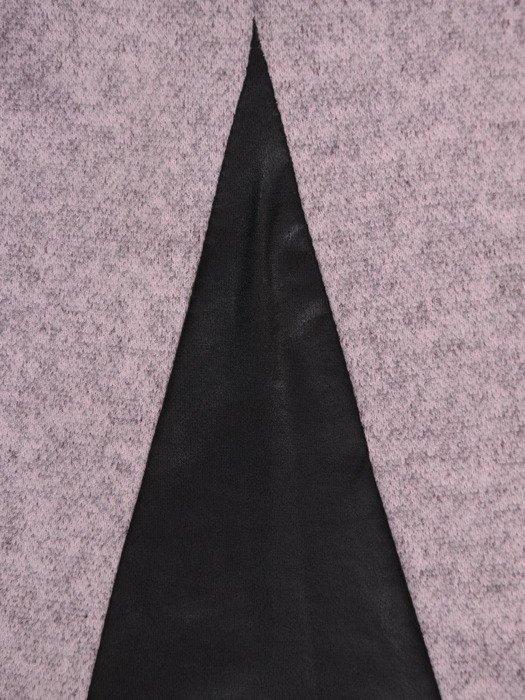 Dzianinowa bluzka z modnym nadrukiem 17839.
