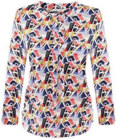 Elegancka bluzka wiązana na kokardę Larisa IV.