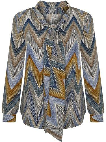 Elegancka bluzka z atrakcyjnym wiązaniem Selma I.