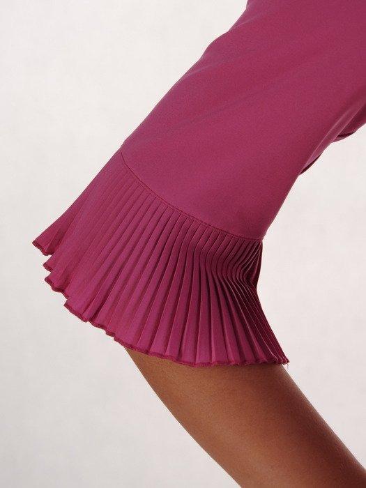 Elegancka bluzka z plisowanymi wstawkami 19899