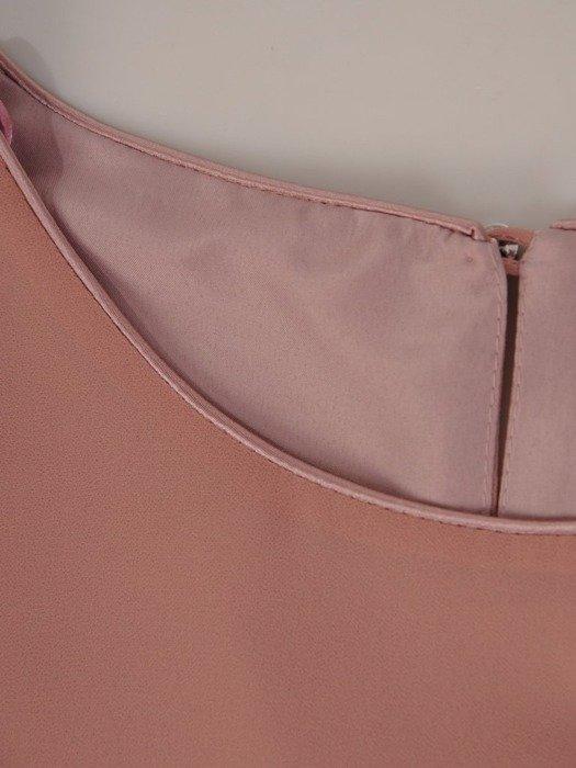 Elegancka szyfonowa bluzka z falbaną 24734