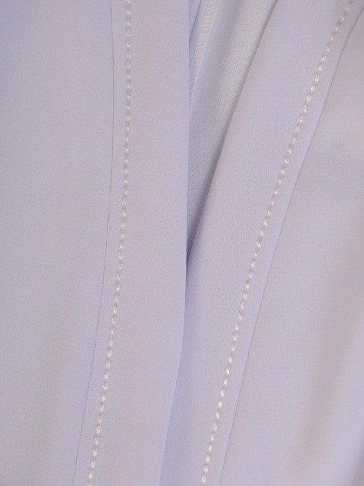 Granatowa sukienka z jasnym żakietem, modna kreacja na wesele 24501