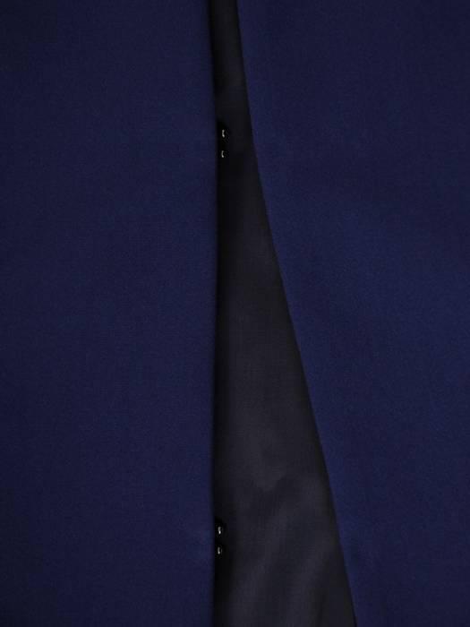 Granatowy żakiet damski zapinany na haftki 30349