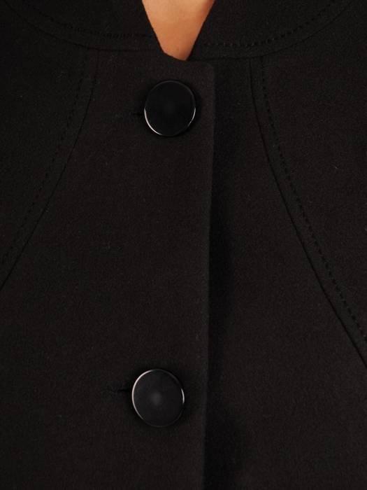 Jesienny płaszcz damski zapinany na guziki 26974