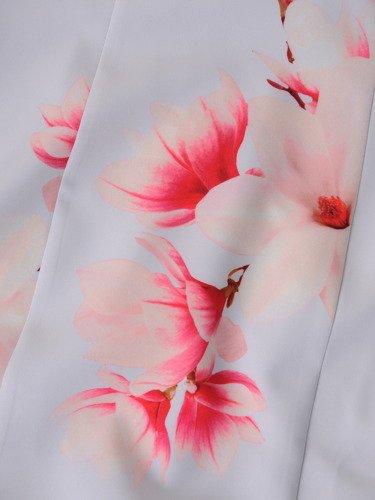 Klasyczna sukienka z ozdobnym suwakiem na plecach Iwitta VIII.