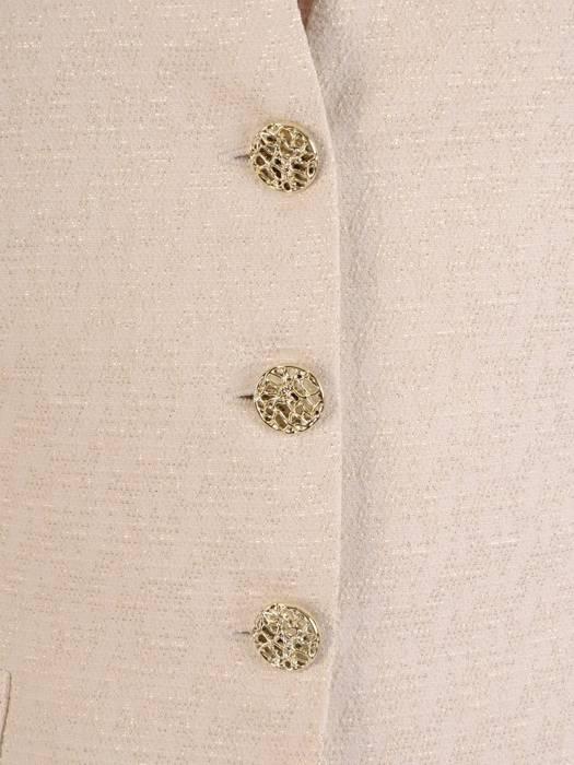 Klasyczny żakiet z połyskującej żakardowej tkaniny 27171