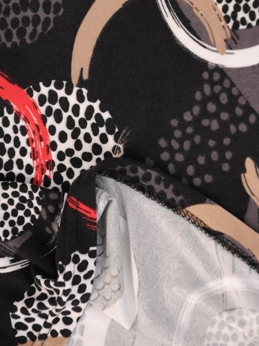 Kolorowa bluzka z kieszonką 28736