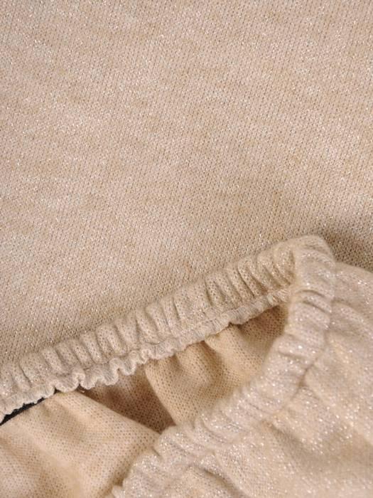 Komplet damski, dzianinowa spódnica z bluzką 28631