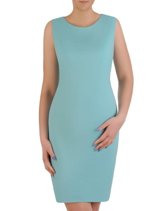 Komplet damski, prosta sukienka z luźną koronkową narzutką 20448.
