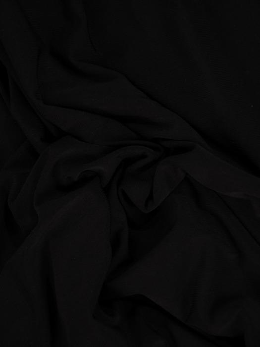 Kontrastowa sukienka z kimonowymi rękawami 20860