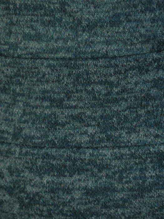 Kopertowa sukienka z melanżowej dzianiny 24125