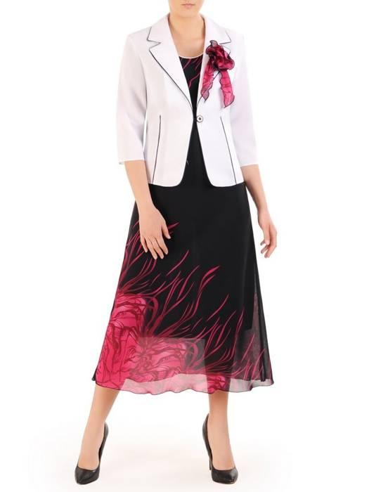Kostium damski, elegancka sukienka z żakietem 29887