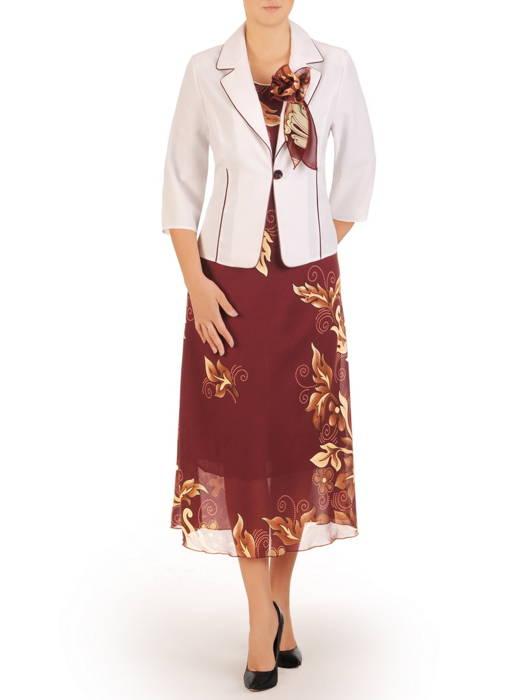 Kostium damski, elegancka sukienka z żakietem 30547