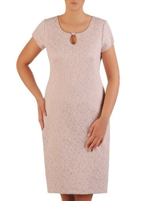 Kostium damski, elegancki komplet na wesele 26186