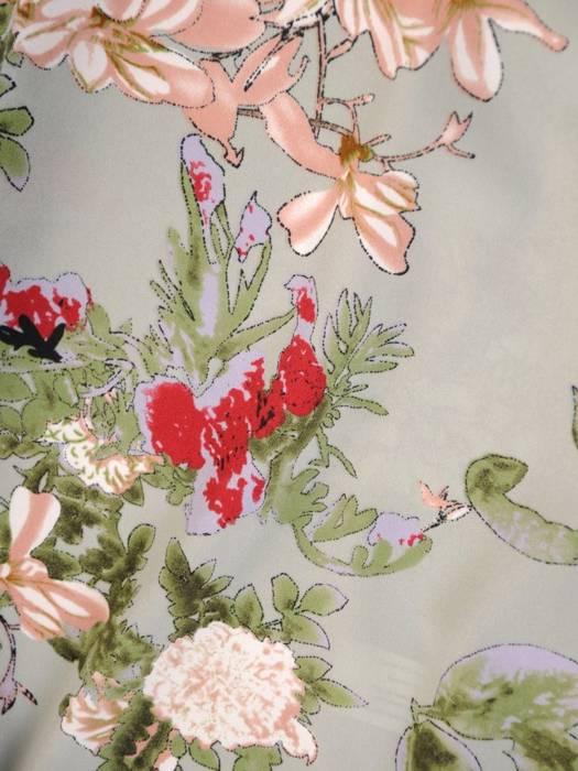 Letnia sukienka maxi, kreacja z ozdobnym wiązaniem 30426