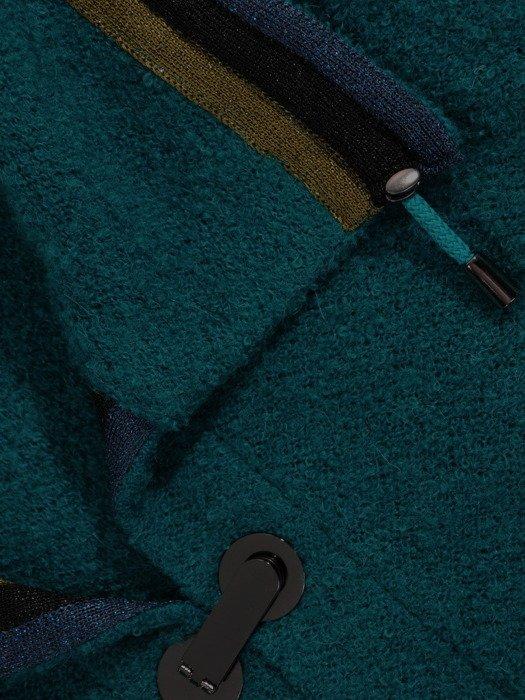 Luźny sweter z ciekawym zapięciem 19063
