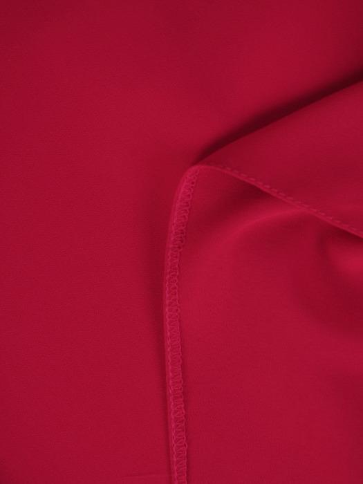 Malinowa sukienka z szyfonowym żakietem 20810