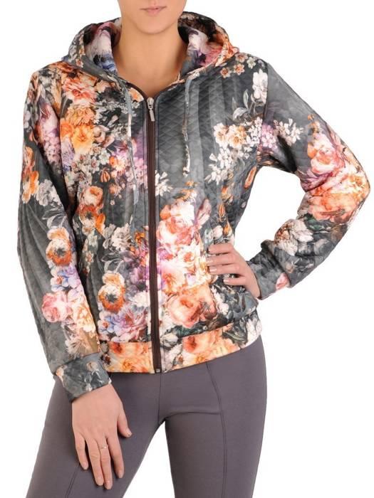 Modna bluza damska z kapturem 28124