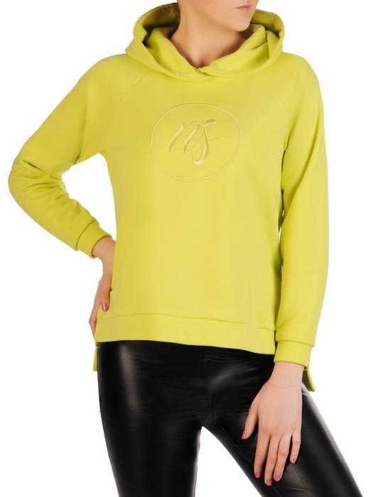 Neonowa bluza z kapturem 29207