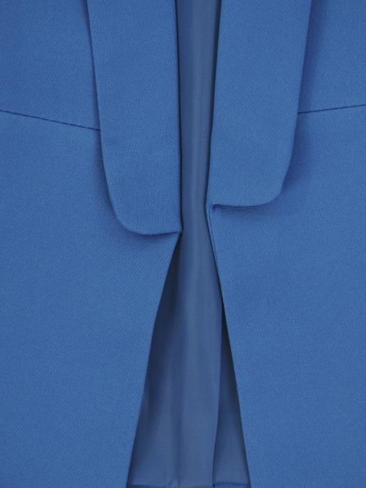 Niebieski żakiet z tkaniny 20928.