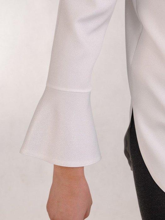 Nowoczesna bluzka z elegancką stójką 19120