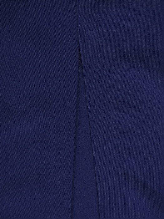 Nowoczesna, długa suknia z wysokim rozcięciem 18752