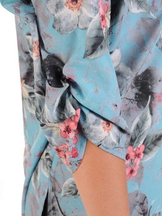 Pastelowa bluzka w kwiaty 26531