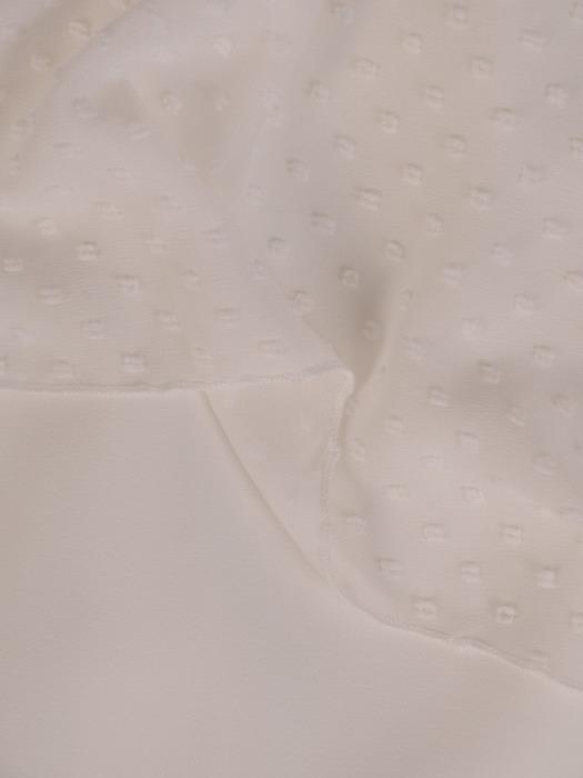 Pastelowa sukienka w fasonie maskującym brzuch 20903.